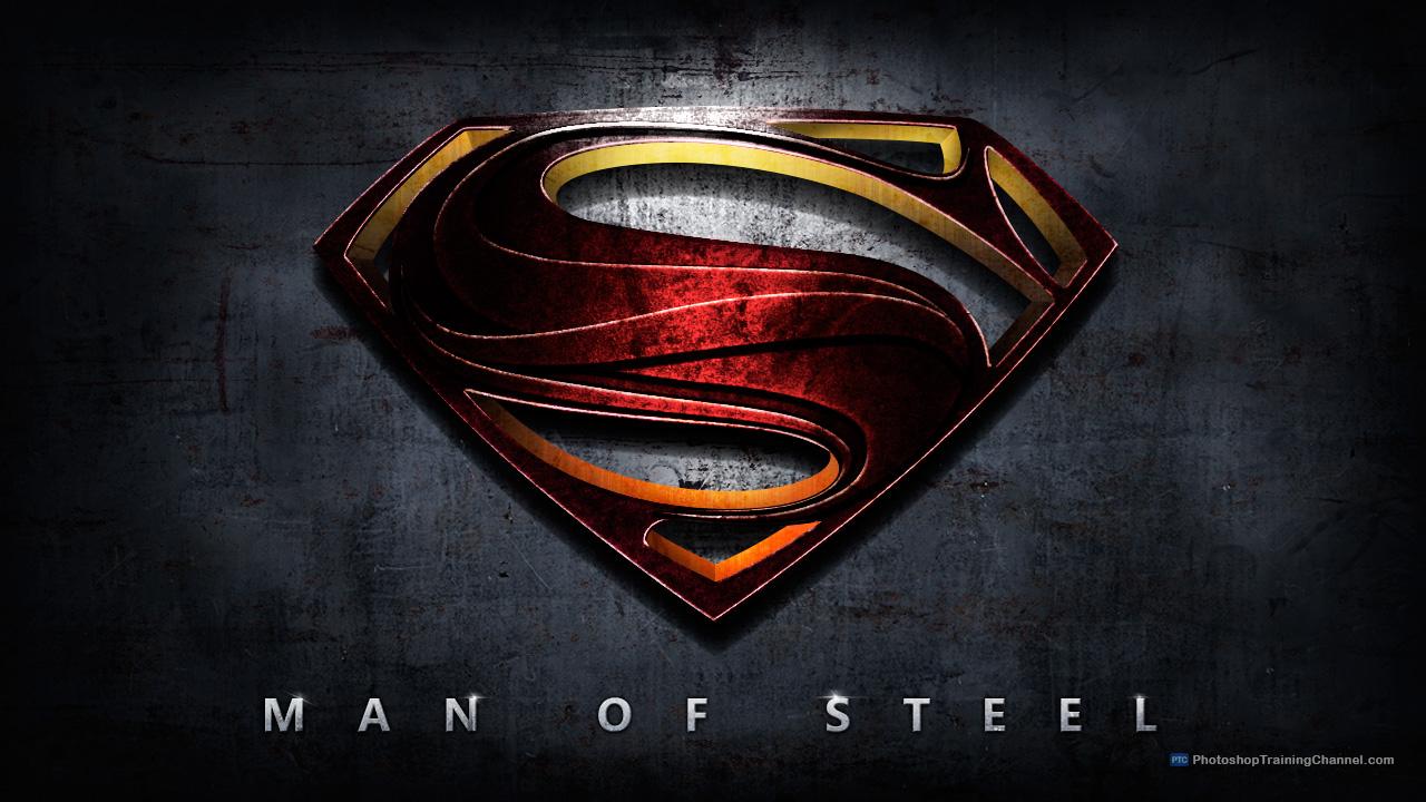 Man of Steel movie logo
