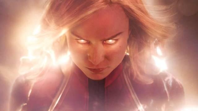 Captain Marvel Trailer!