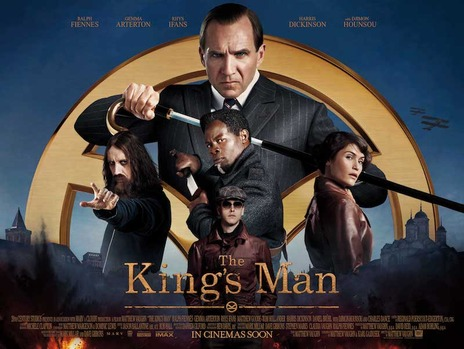 The King's Man poster with cast