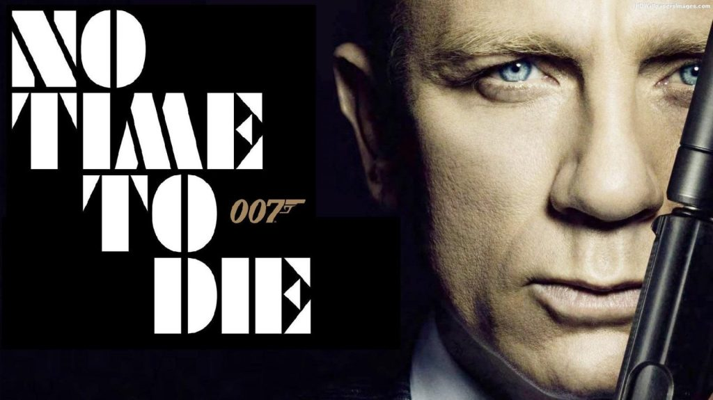 James Bond 007 No Time To Die poster